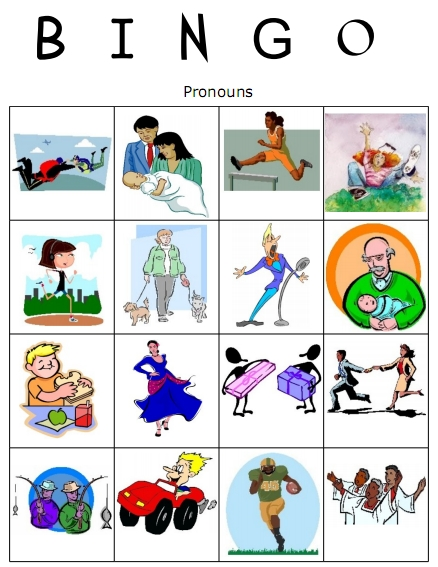 Pronouns : Free Language Stuff