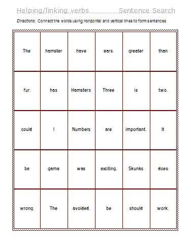 compound verb worksheets