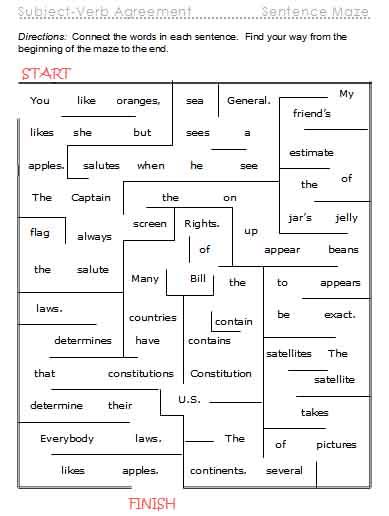 verb worksheets action verbs linking verbs verb tenses printable ...