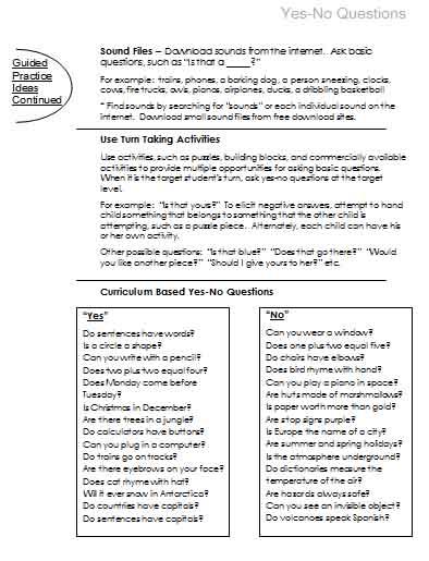 Questions | Free Language Stuff!