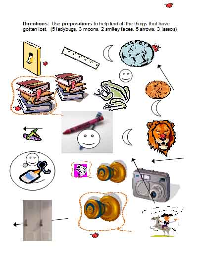 Prepositions | Free Language Stuff