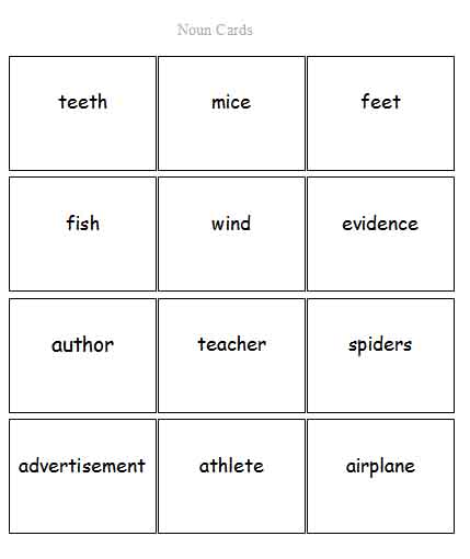 Plural Verbs List Irregular