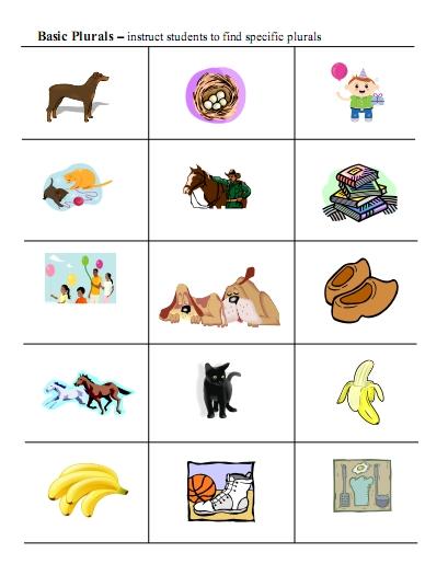 Nouns Worksheets For Kindergarten Plural noun worksheets and