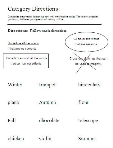 graphic relating to Following Directions Printable Activities titled Immediately after Guidelines Worksheets, Things to do, Targets, and