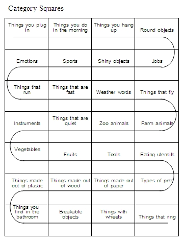 Worksheet Aphasia Worksheets categories word lists activities worksheets and more free 1 2