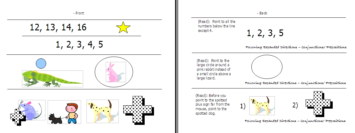 25d42eec3637 Following Directions – Worksheets, Activities, Goals, and More ...