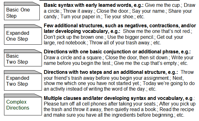 direction essay following The ability to follow any specific direction depends following directions – worksheets, activities, goals directions – worksheets, activities, goals, and.