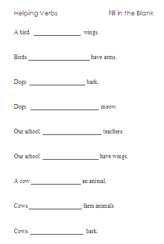 Printables Helping Verb Worksheet helping verbs word lists activities worksheets and more other basic activities
