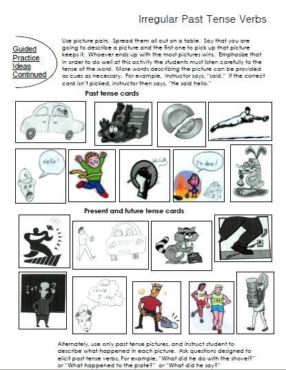 5 - Irregular Past Tense Verbs Worksheet