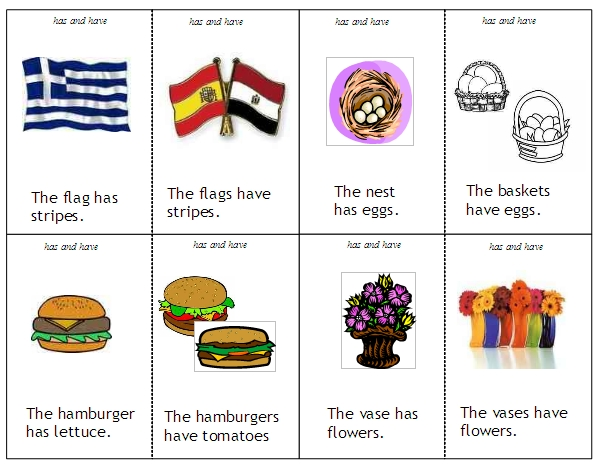 Helping Verbs word lists activities worksheets and more – Has and Have Worksheets