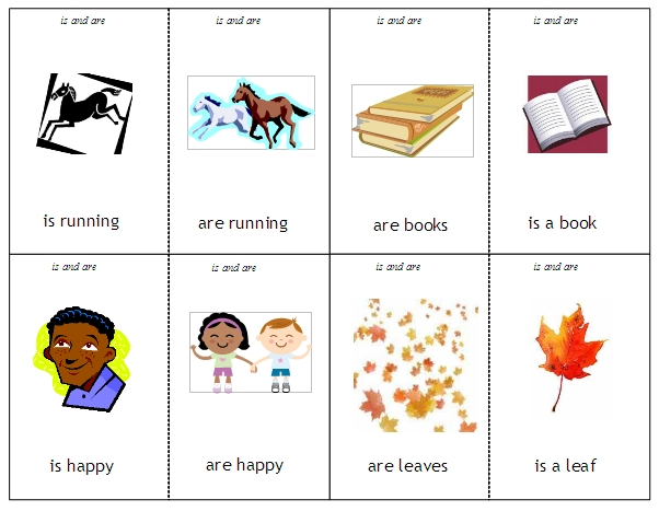 Kindergarten Verb Matching Worksheet | Free Printable Math Worksheets ...