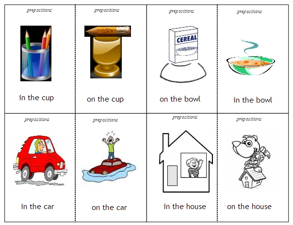 Prepositions Free Language Stuff